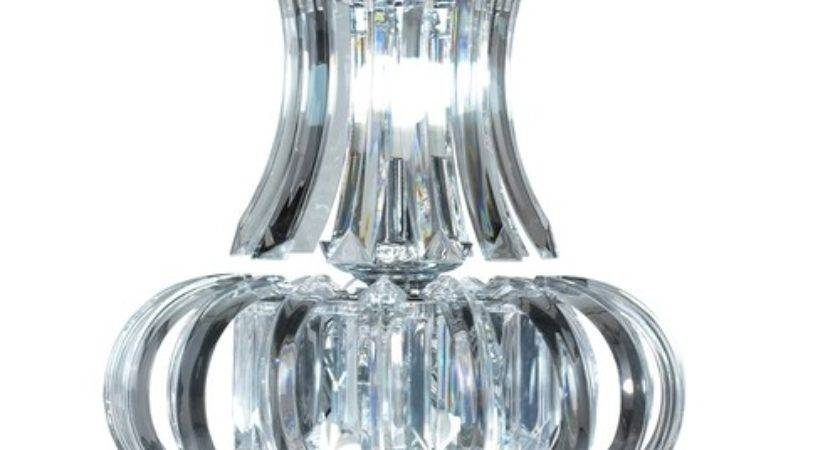 Clarence Medium Brother Light Clear Acrylic Chandelier