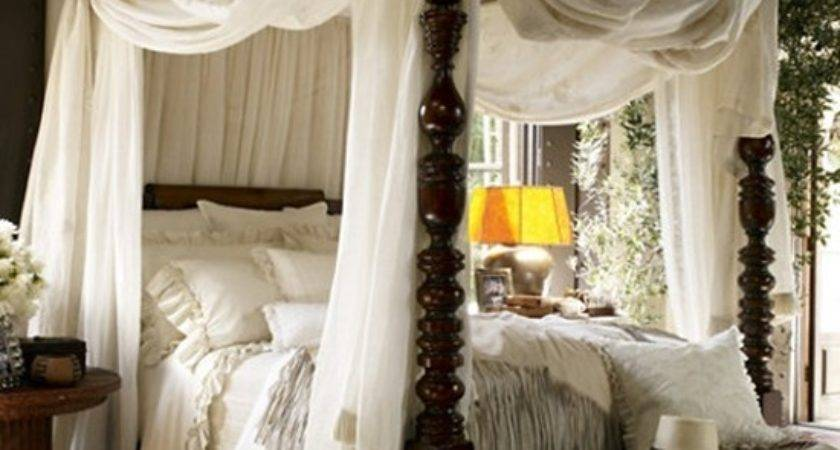 Classic Cute Casual Bedroom Canopy Designs Interior Design