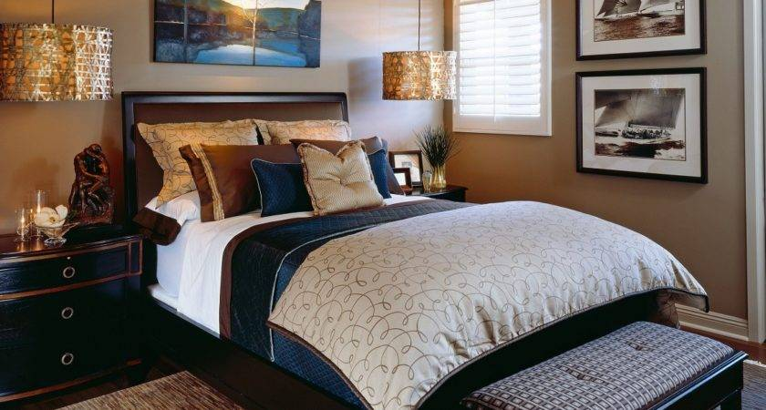 Classic Sophisticated Home Bedroom Robeson Design San