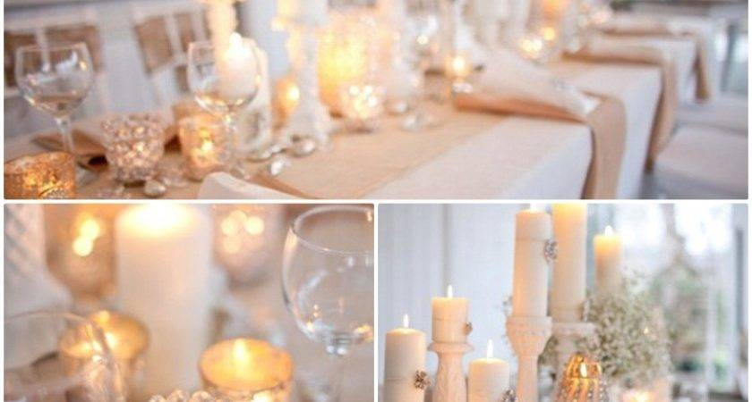 Classic Sprinkled Wedding Pearls Centerpieces Adworks