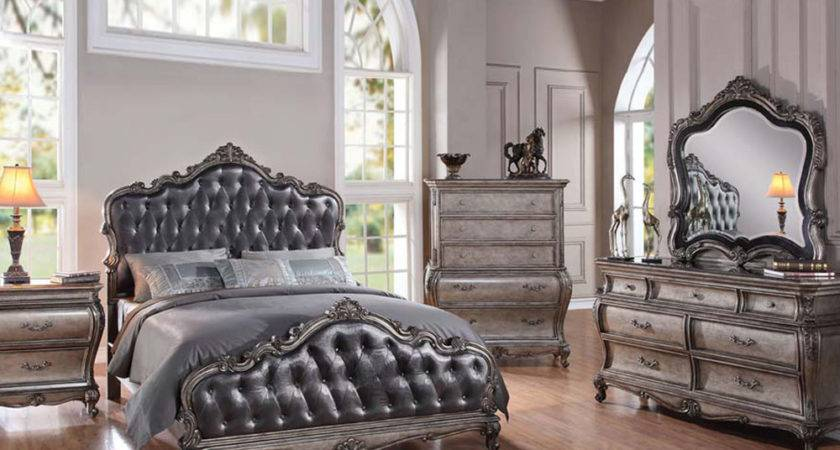 Classic Style Bedroom Set Chantelle Acme Furniture