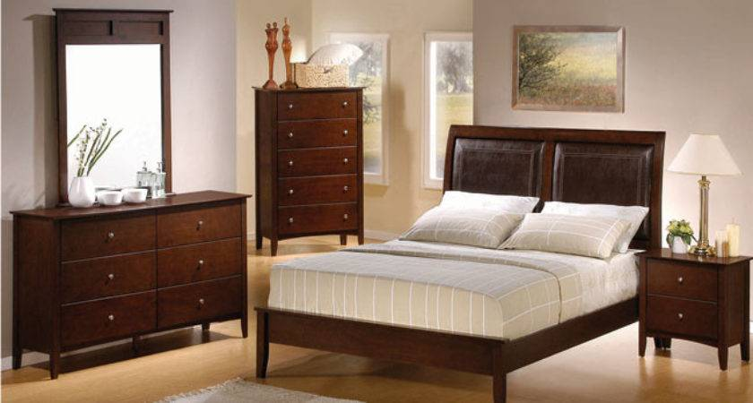Classic Unfinished Wood Bedroom Furniture Design Decor