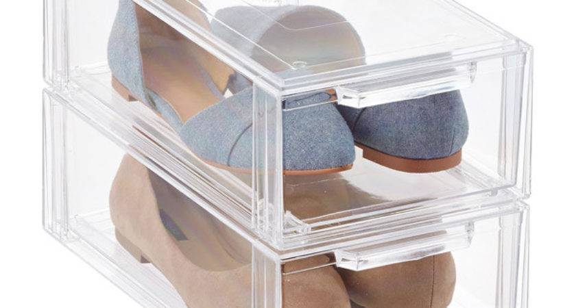 Clear Shoe Drawer Container Store