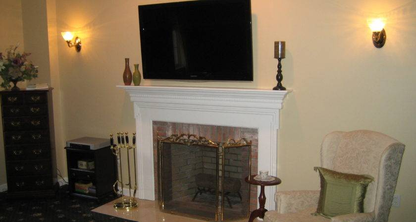 Clinton Install Above Fireplace Wall Wire