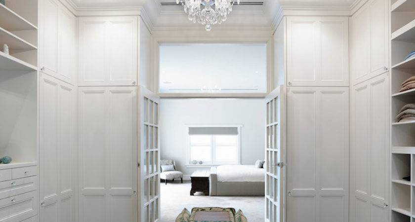 Closet French Doors Transitional Canny