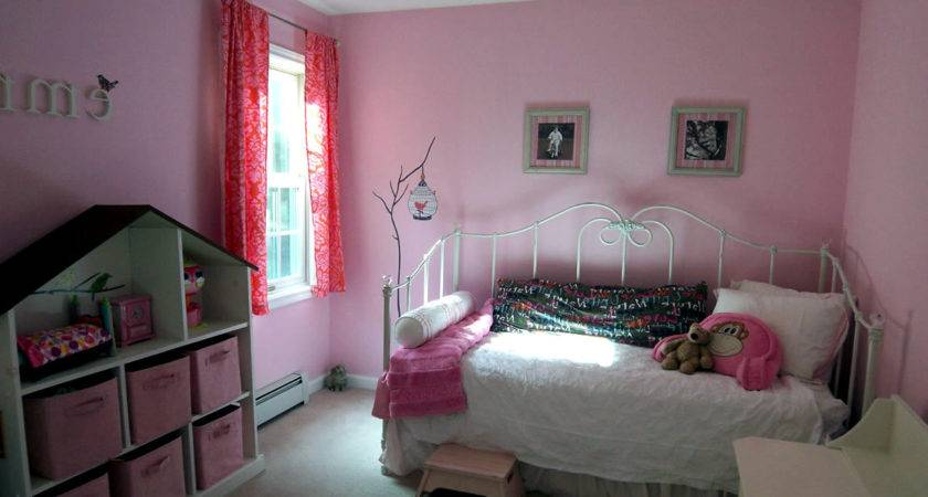 Color Combination Girls Room Pink Brown