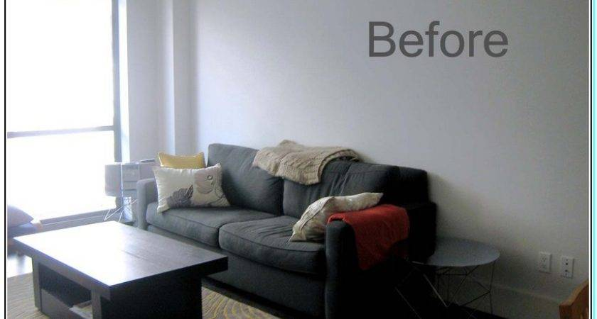 Color Furniture Goes Light Gray Walls