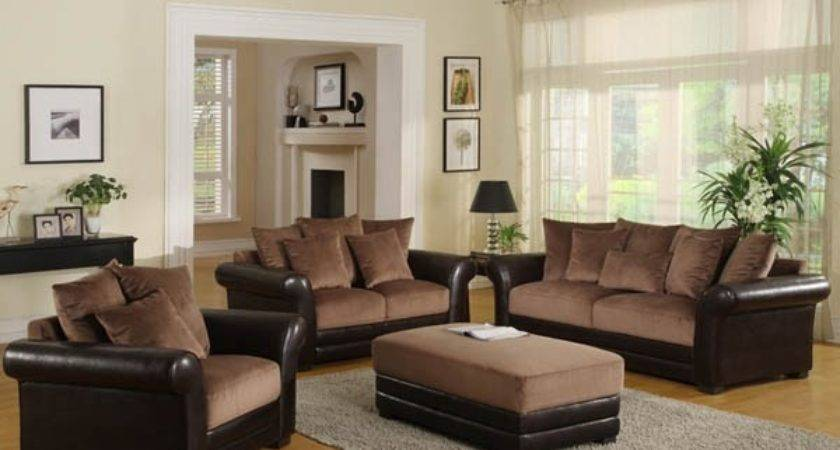 Color Paint Living Room Brown Couch