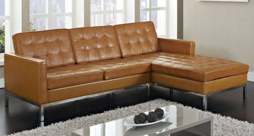 Color Rug Goes Brown Leather Sofas