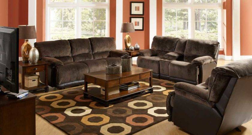 Color Schemes Living Room Brown Sofa Refil