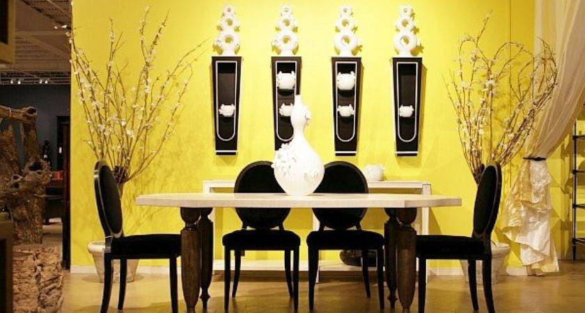 Color Wall Ideas Dining Room Yellow Walls