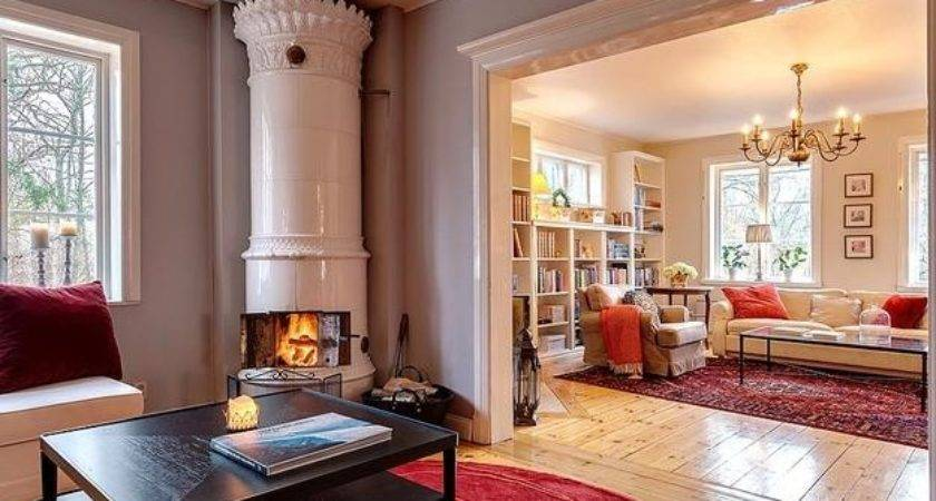 Colorful Country Home Decorating Ideas Scandinavian Style