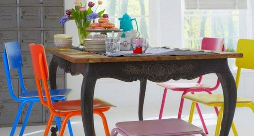 Colorful Dining Chairs Modern Mix Design Lovers Blog