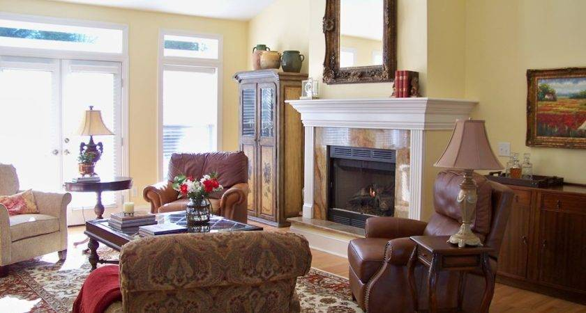 Comforts Home French Country Living Room Before