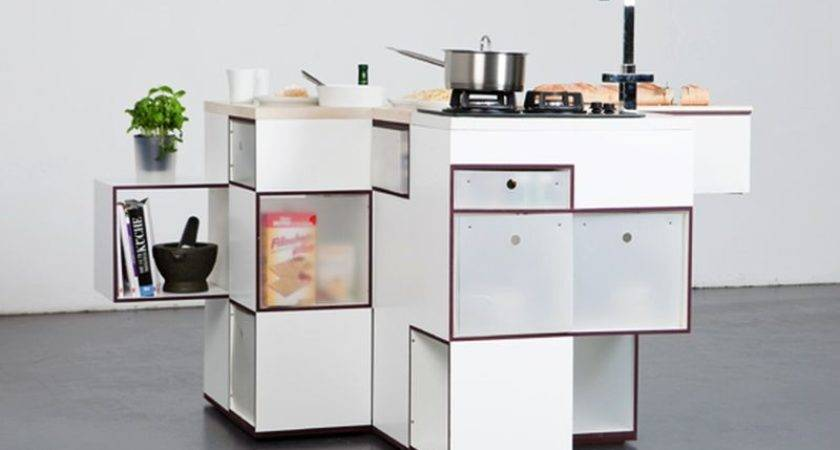 Compact Kitchen Units Make Most Small Spaces