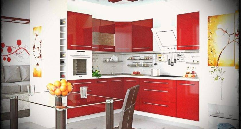 Compact Modern Kitchen Small Design Space