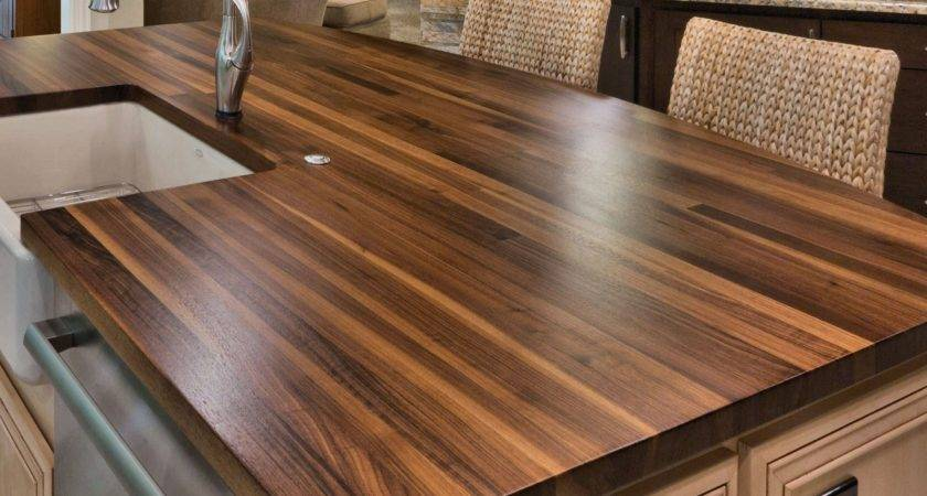 Construction Styles Custom Wood Countertops