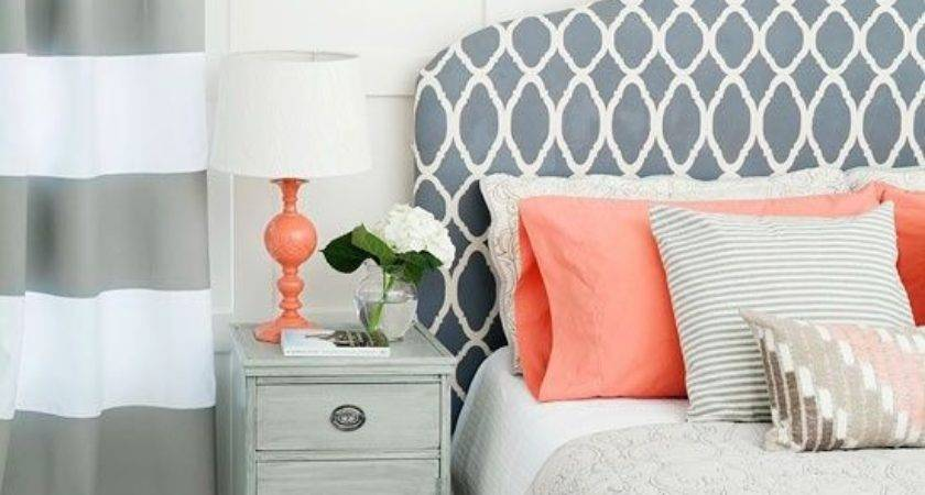 stunning coral beach bedroom | Contemporary Design Bedroom Grey Coral Just Decorate ...