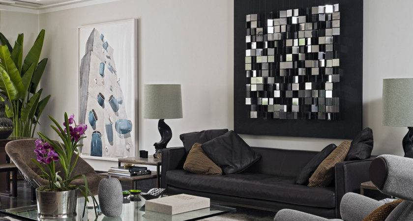 Contemporary Diy Living Room Wall Decorating Ideas