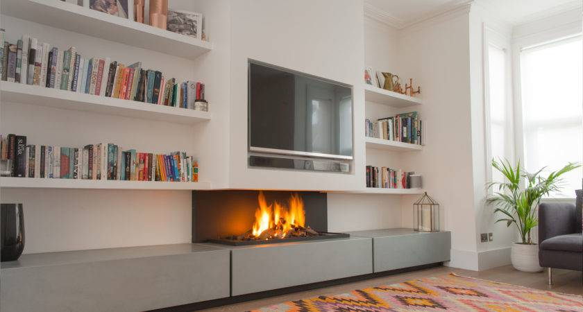 Contemporary Fireplace Modern