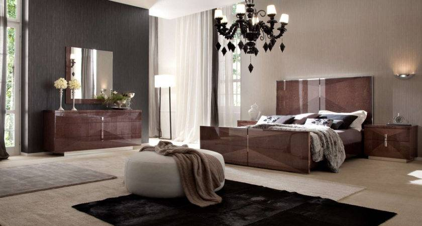 Contemporary Italian Bedroom Furniture Sets Italia