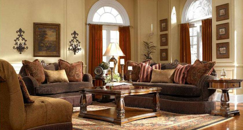 Contemporary Living Room Interior Design Ideas Brown