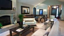 Contemporary Mixed Traditional Living Space