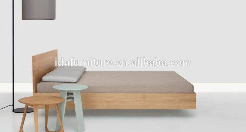 Contemporary Simple Design Wooden Bed Buy Sample