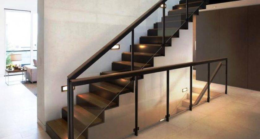 Contemporary Stair Railing Ideas Invisibleinkradio Home