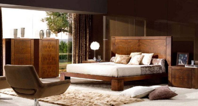 Contemporary Wooden Bedroom Furniture Mobil Fresno