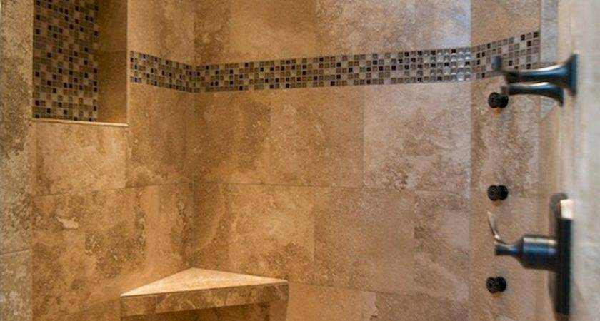 Cool Bathroom Shower Subway Tile Decorating Ideas