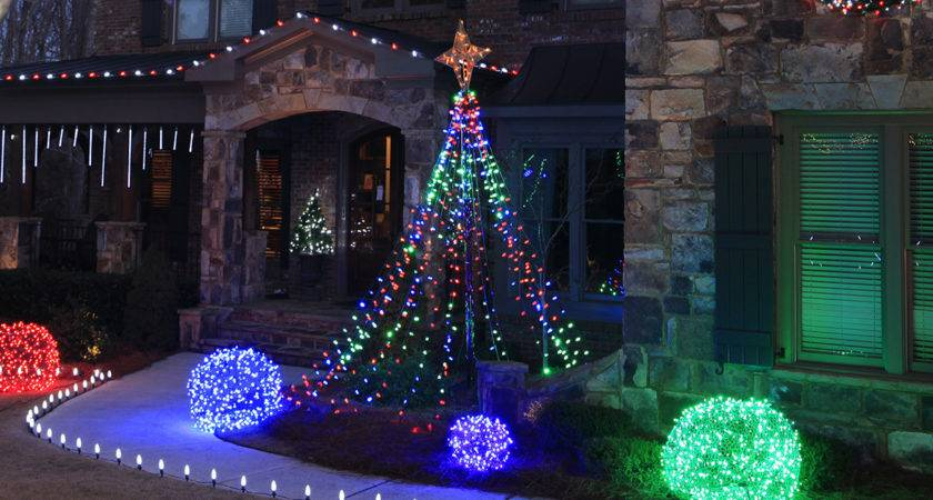 Cool Christmas Decorating Ideas Outside