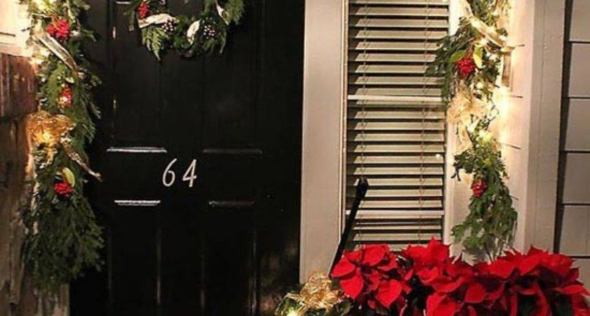 Cool Christmas Porch Decorating Ideas All