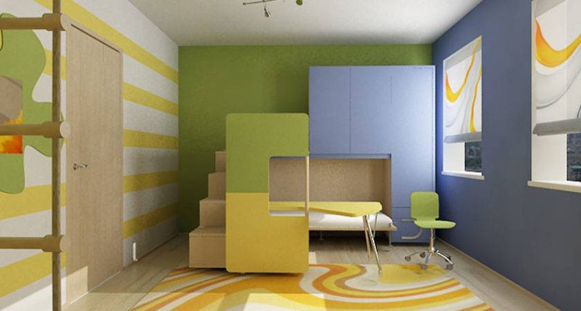 Cool Colorful Kids Room Ideas Bedroom Design
