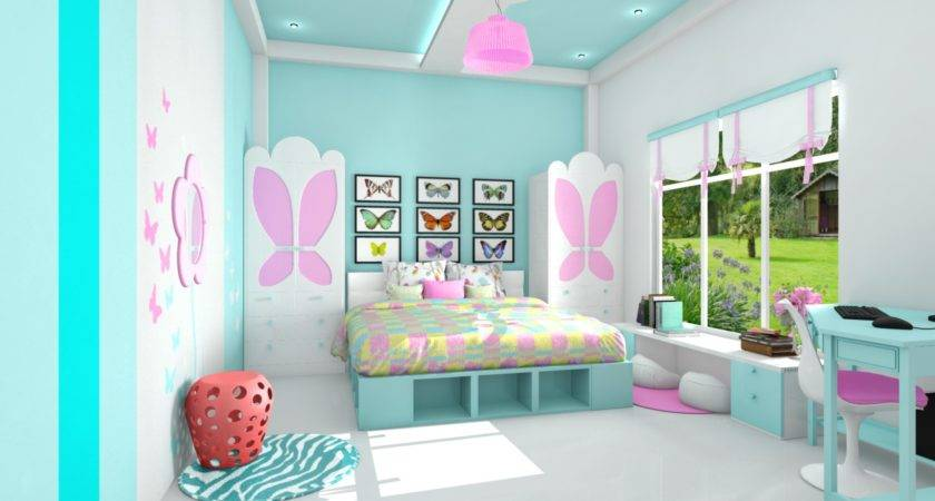 Cool Girl Bedroom Designs Lovely Beautiful