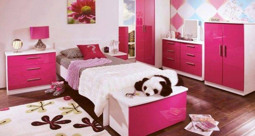 Cool Ideas Girls Pink Bedrooms