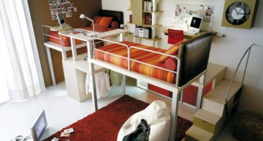 Cool Loft Children Bedroom Designs Tumidei Small