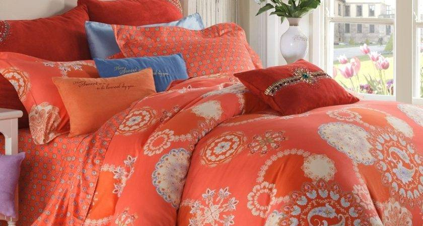 Coral Colored Bedding Solid Baby Crib