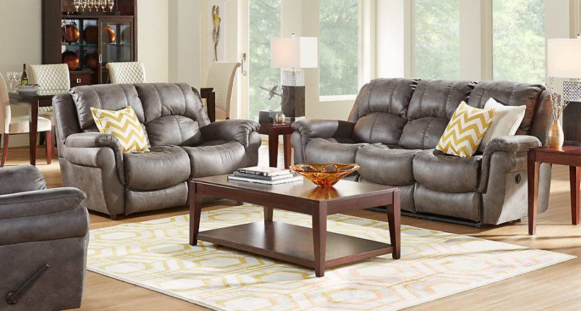 Corbin Gray Living Room Sets