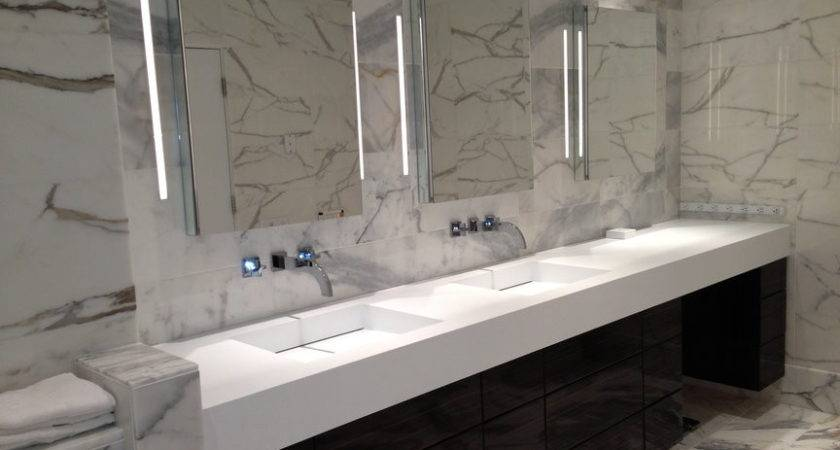 Corian Bathroom Countertops Sink Bath