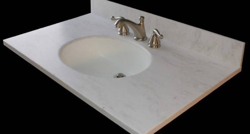 Corian Vanity Tops Traditional Side