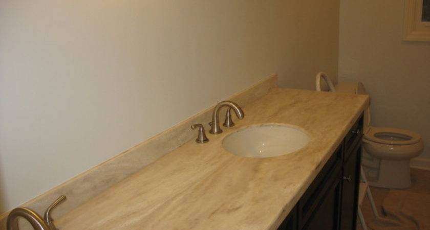 Corian Witch Hazel Contemporary Vanity Tops Side