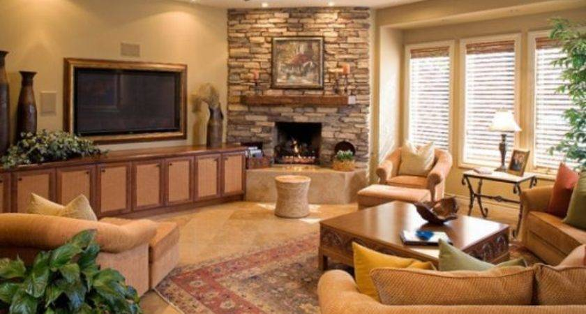 Corner Fireplace Room Photos Home Decorating Ideas