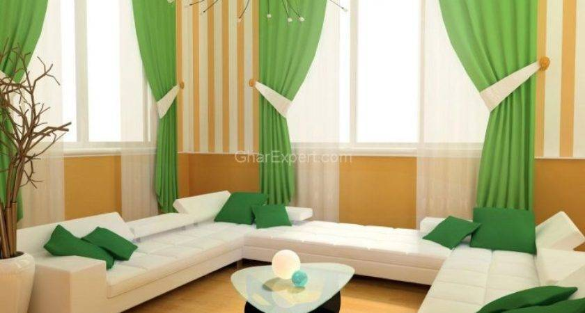 Cosy Bedroom Green Curtains Curtain Best Ideas