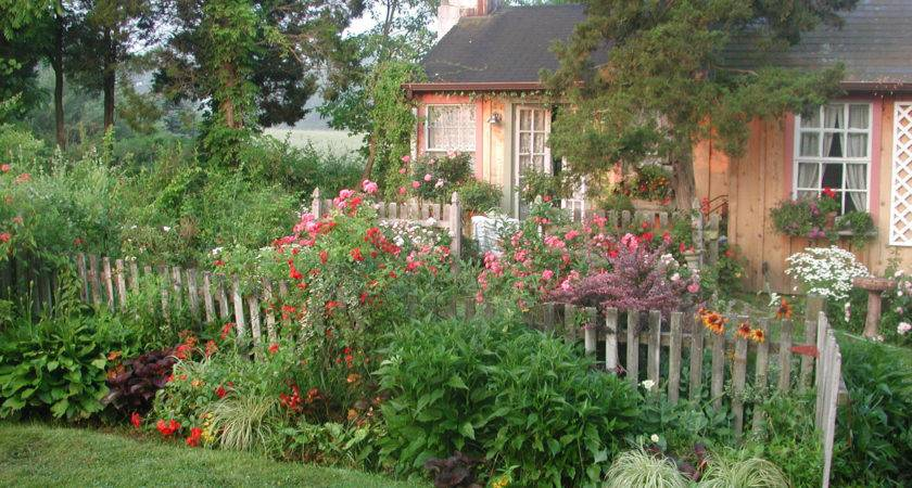 Cottage Garden Designs Decorating Ideas Design