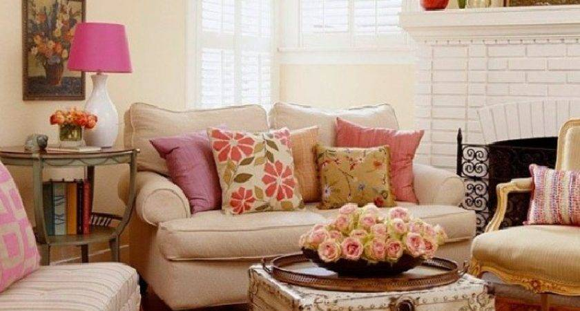 Country Chic Living Rooms Modern Antique Feel