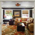 Country Chic Media Room Traditional