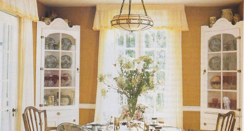 Country Cottage Dining Room Ideas