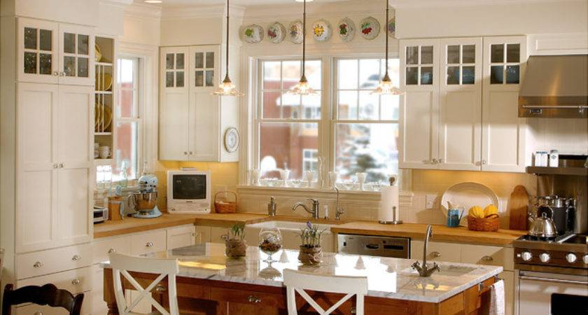 Country Kitchen Classic Farmhouse Traditional