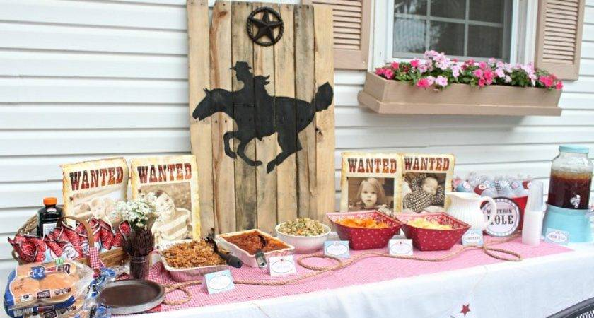 Cowboy Birthday Party Ideas Parker Turns Love